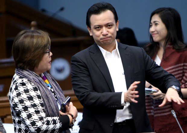 De Lima, Trillanes are the senate's worst, says Tiglao