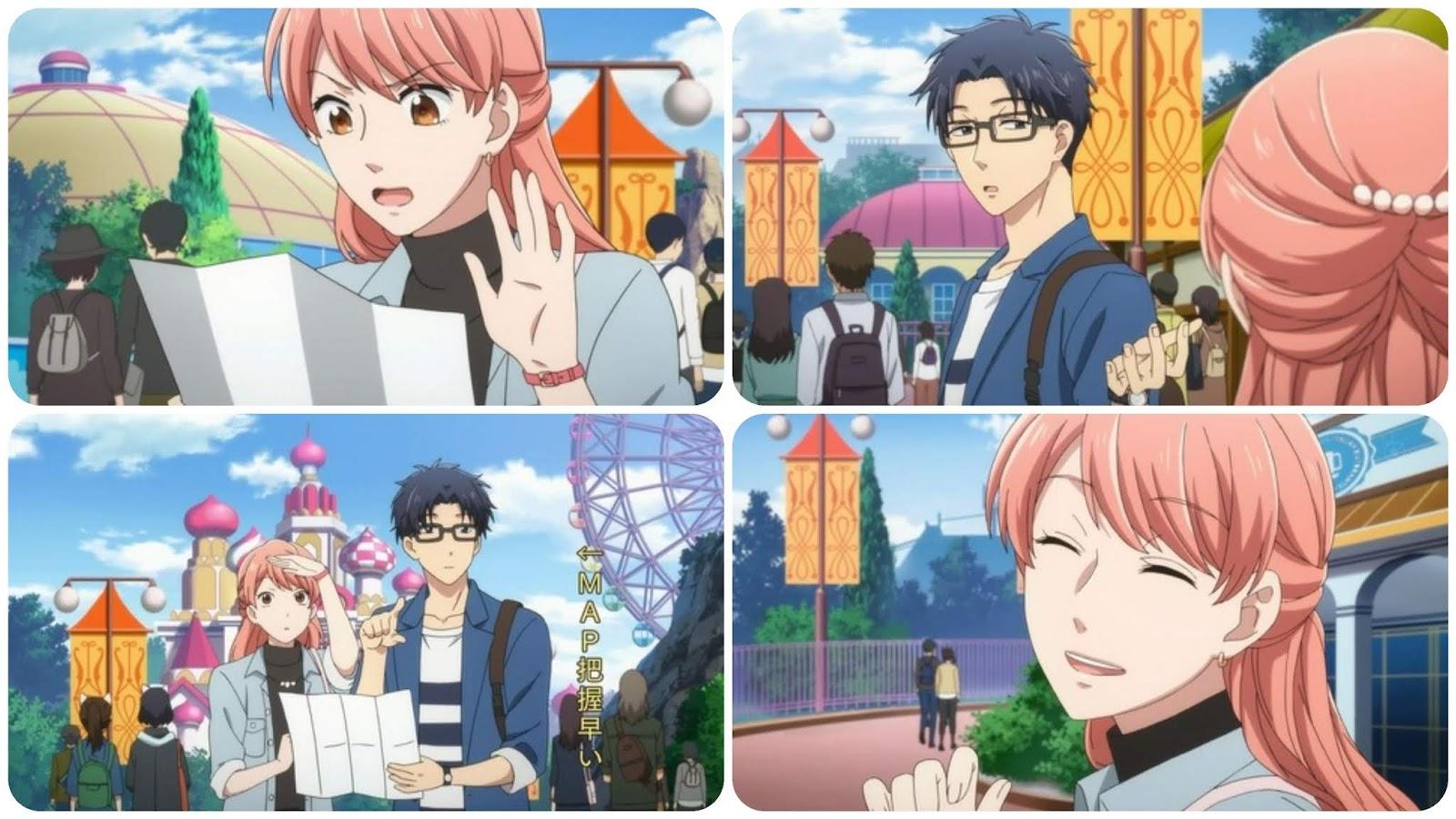 Anime Nikki Wotakoi Love Is Hard For Otaku Episode 9