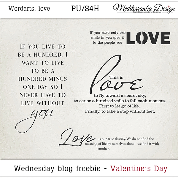 WINNER + WEDNESDAY BLOG FREEBIE - VALENTINE