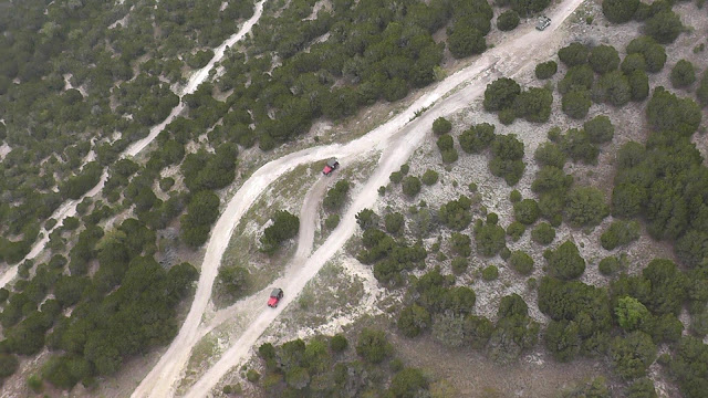 drone, Jeep, 4x4, off road trails, rock crawler, weekend, camping, extreme, aerial view