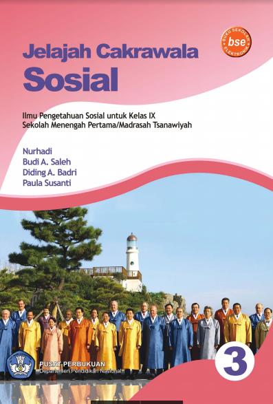 Download Buku Siswa KTSP SMP dan MTs Kelas 9 Jelajah Cakrawala Sosial 3