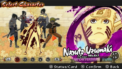 download Naruto Ultimate Ninja Impact Biju/Sage Mode ISO Mod Texture For PPSSPP