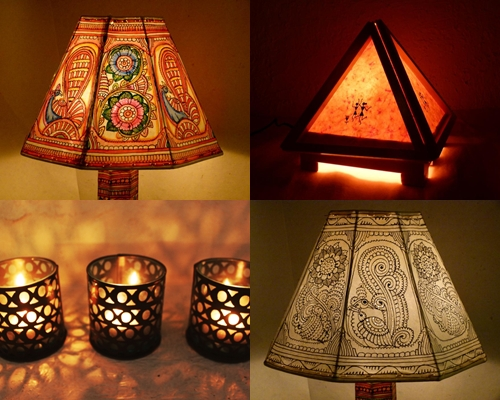 Foundation dezin decor diwali indian lighting ideas for the different looks styling and light texture you might play with different kind of lamp shades you might go for cotton fabric lamp shades with aloadofball Image collections