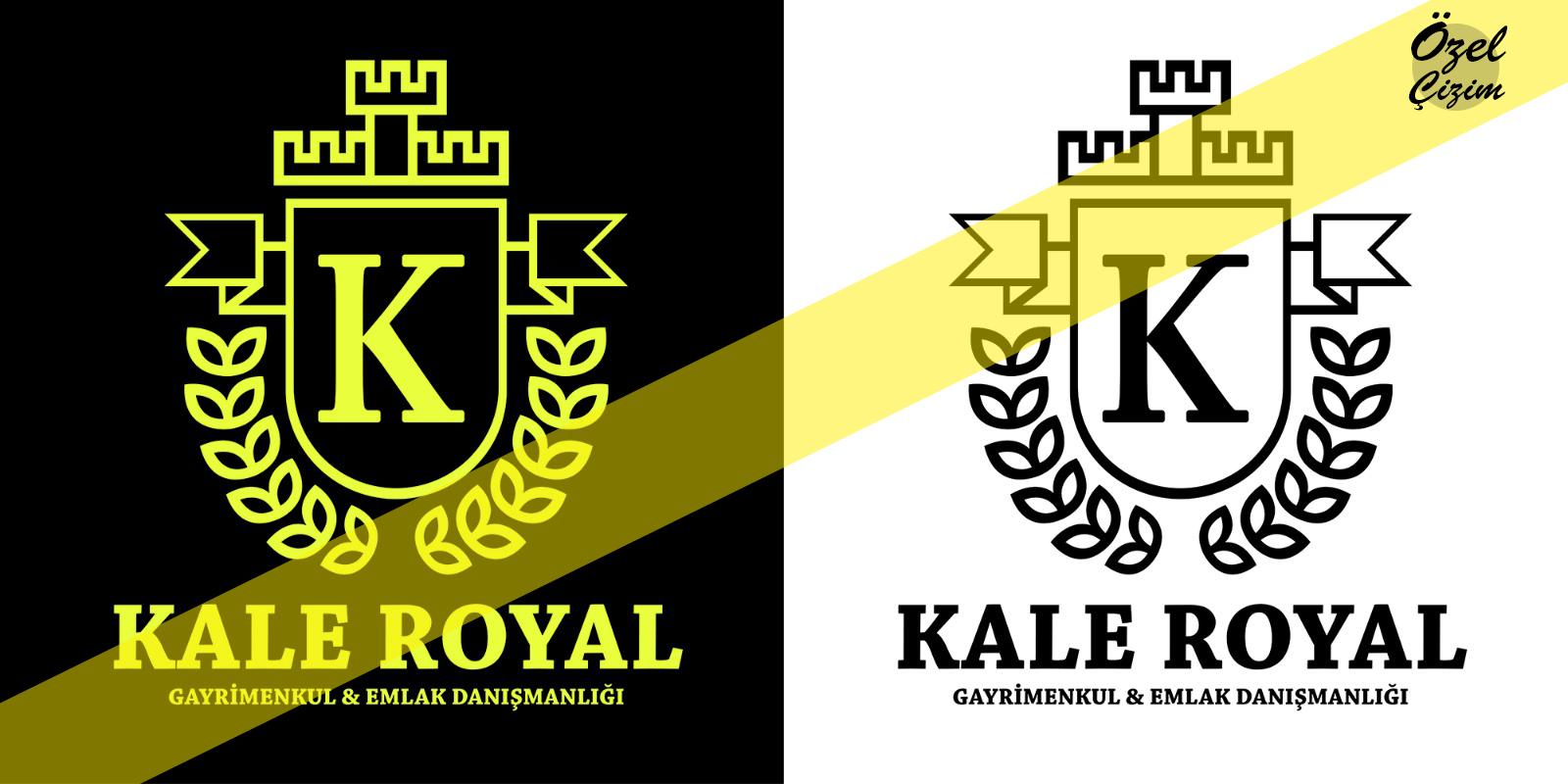 grafik, logo tasarım, kale royal, logo çizimi, vektörel logo, Vektörel Çizim, freelance logo tasarım, gayrimenkul logo, logo tasarım ücretleri, logo, logo yapma, firma logosu, Özel Çizim,