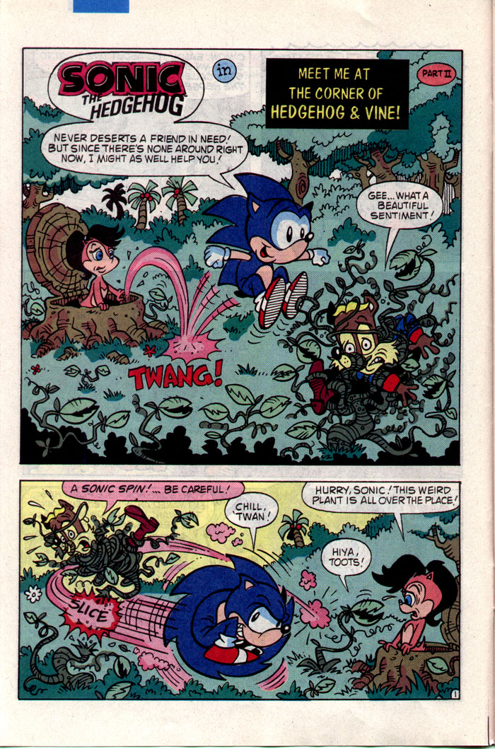 Read online Sonic The Hedgehog comic -  Issue #1 - 7