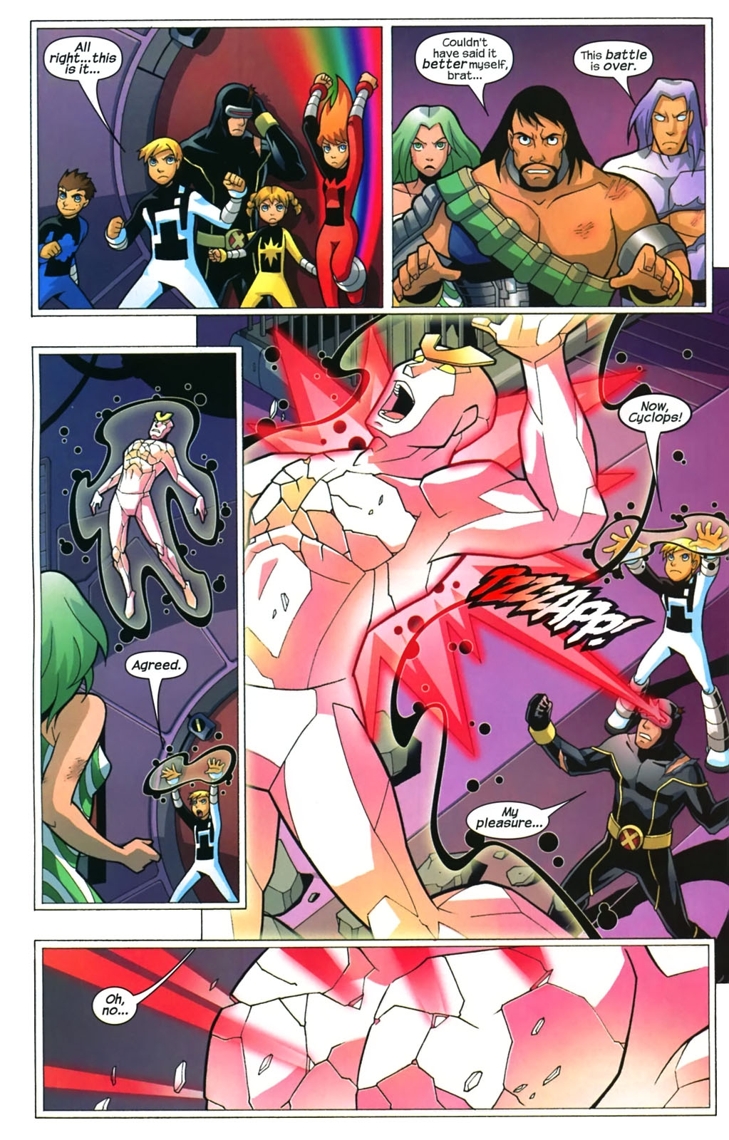 Read online X-Men and Power Pack comic -  Issue #4 - 21