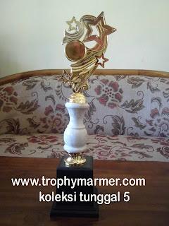 Harga Trophy piala marmer Koleksi 5 tunggal