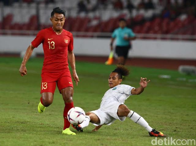 Indonesia Taklukan Timor Leste 3-1 di Piala AFF 2018