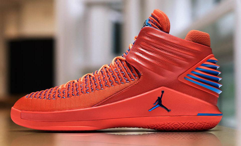 sports shoes 730e8 52181 Air Jordan 32 OKC PE   Analykix