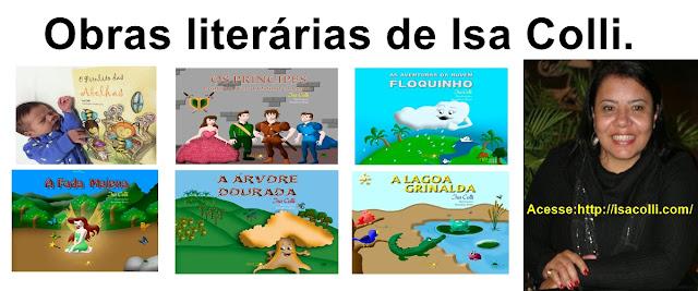 Vários livros de Isa Colli
