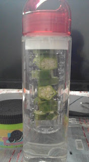infuse water okra