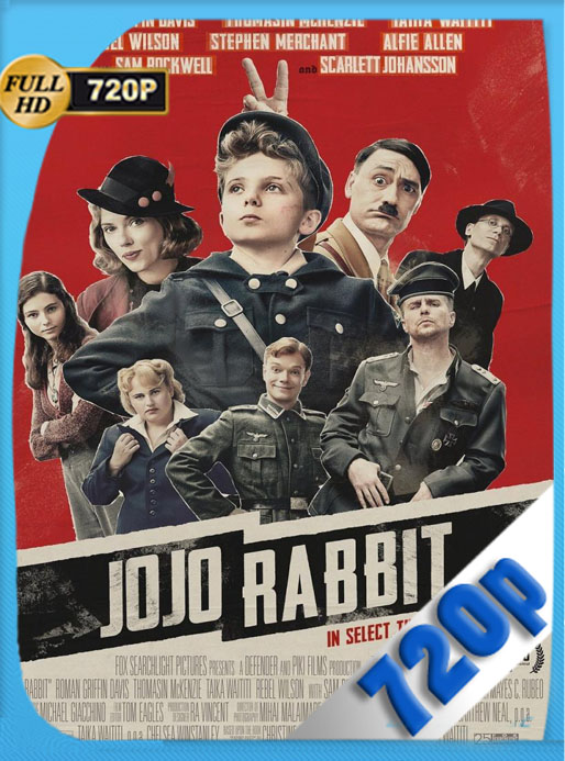 Jojo Rabbit (2019) [WEB-DL] 720p [Latino] Luiyi21HD
