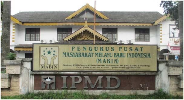Kantor Masyarakat Melayu Baru Indonesia (MABIN) di Jalan Setia Budi Medan