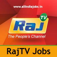 Raj TV Jobs