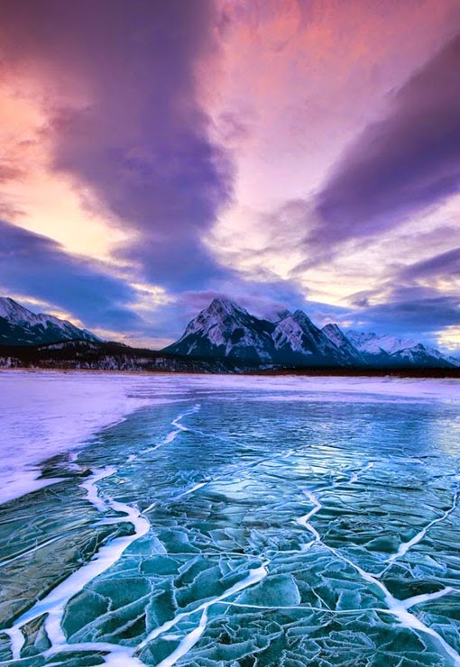 Abraham Lake is an artificial lake on North Saskatchewan River in western Alberta, Canada. Abraham Lake has a surface area of 53.7 and a length of 32 km.