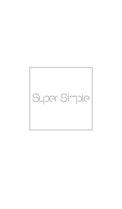 Super Simple theme