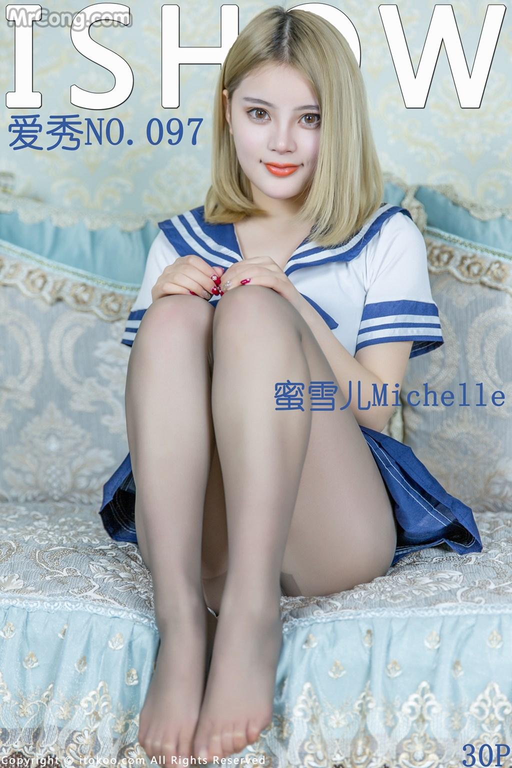 ISHOW No.097: Người mẫu Michelle (蜜雪儿) (31 ảnh)