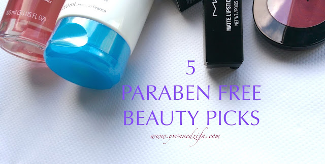 5 Paraben Free Beauty Picks Haul www.yvonnedzifa.com