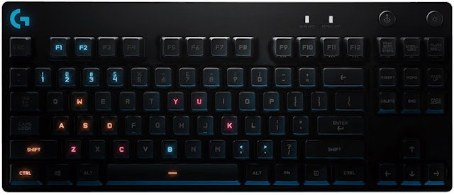 New @LogitechG Pro Mechanical Gaming #Keyboard Designed With Top eSports Players