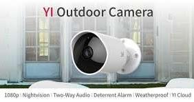 New Yi Outdoor Security Camera Wireless Ip Waterproof