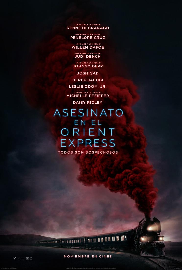 ASESINATO EN EL ORIENT EXPRESS - 2017 - cartel español