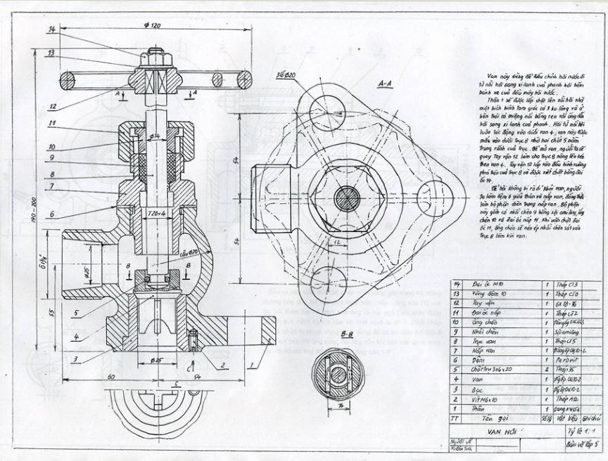 Bản vẽ lắp ghép cơ khí