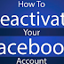 How to Permanently Deactivate My Facebook Account