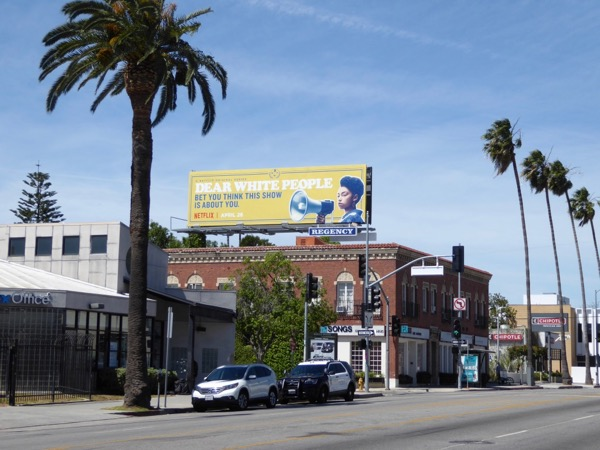 Dear White People TV series billboard
