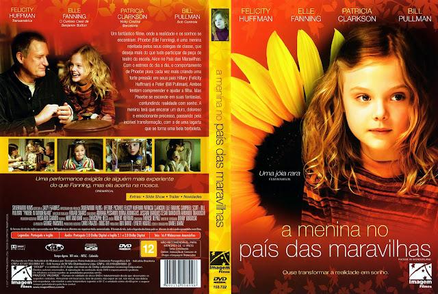 Capa DVD A Menina no País das Maravilhas