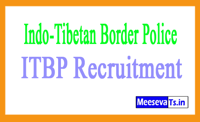 Indo-Tibetan Border Police ITBP Recruitment