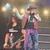 Guns N' Roses celebra cumpleaños de Slash en pleno concierto (VIDEO)