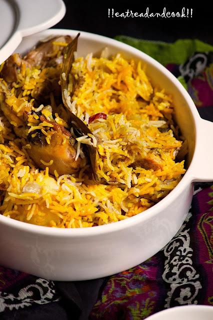 how to cook chicken biryani recipe kolkata style