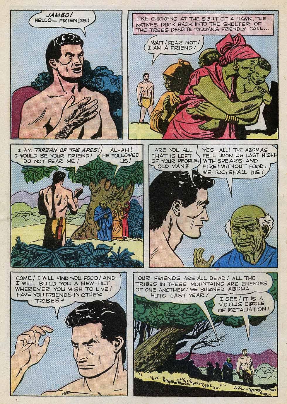 Tarzan (1948) issue 101 - Page 4
