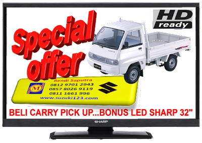 BELI CARRY PICK UP DI BEKASI BONUS LED SHARP 32 INCH