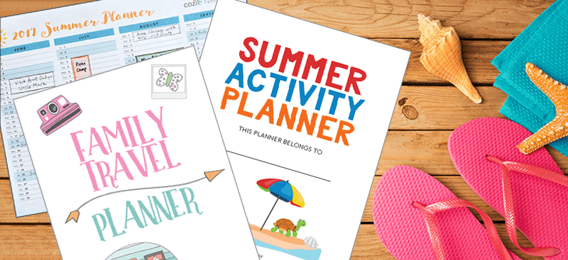 3 Printables You Need to Plan an Awesome Summer Break