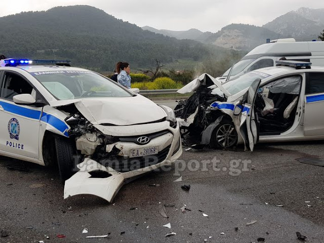 Νεκρός οδηγός μετά από απίστευτη καταδίωξη στην εθνική οδό – Συγκλονιστικές εικόνες στο σημείο – Αυτοκίνητο πήγαινε ανάποδα (photos)