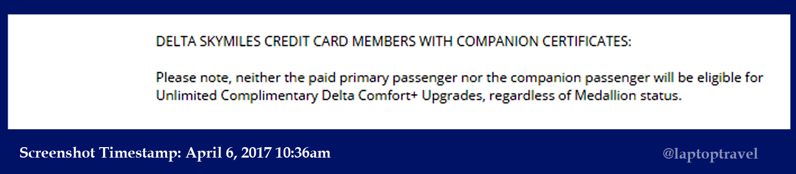 Is Delta Making Improvements To Complimentary Upgrades Or Not How