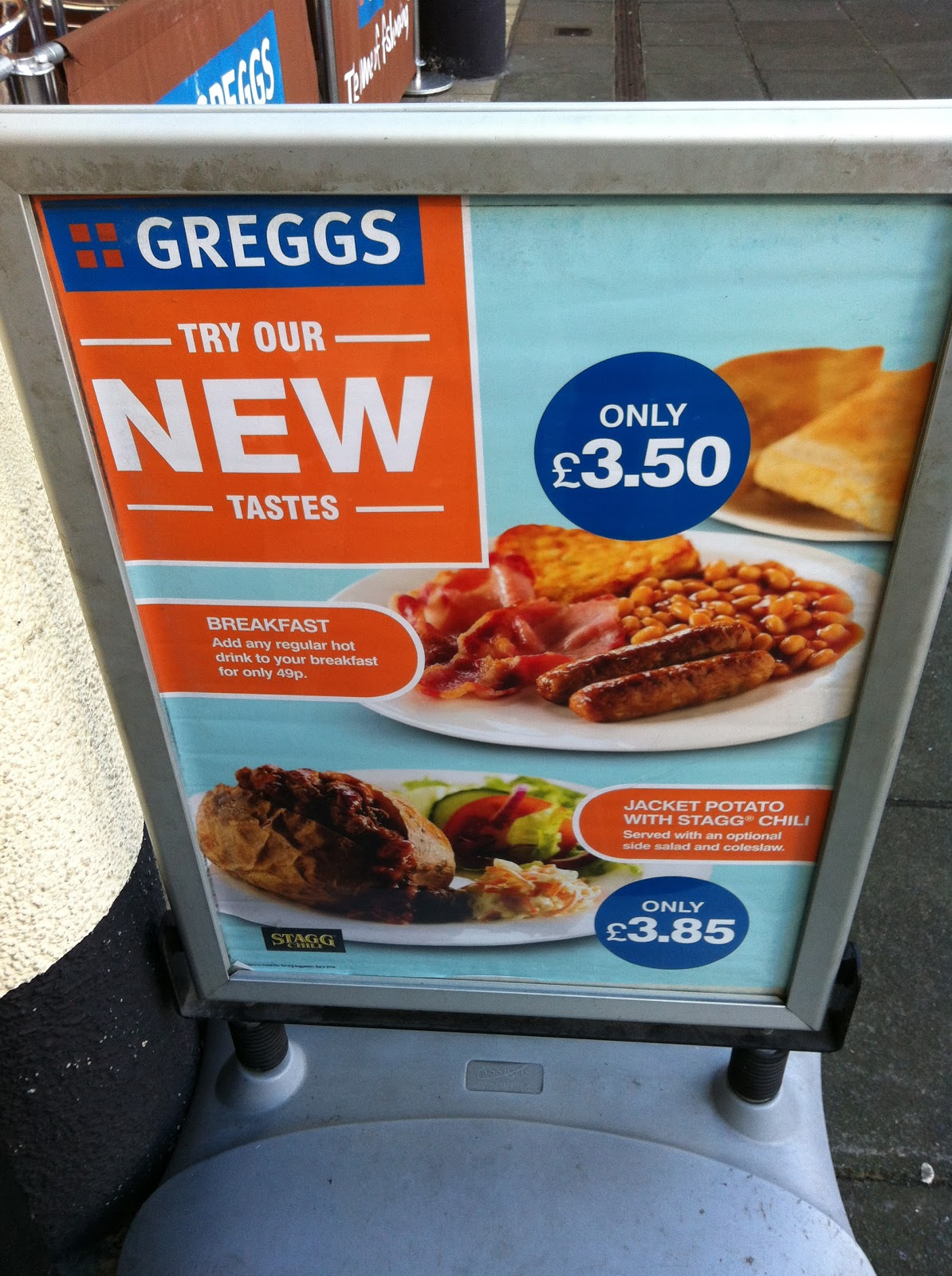 The Fry up Inspector: Greggs - Norwich
