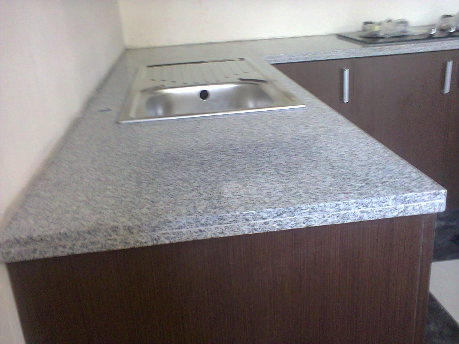 Pasang meja kitchen set granit di kelapa gading tukang for Tukang kitchen set