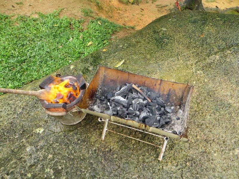 Угли для шашлыка Таиланд