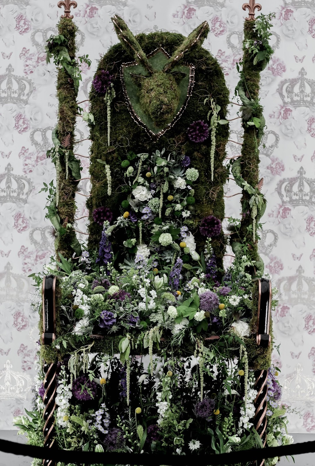 Chelsea Flower Show Young Florist of The Year Competition Thrones