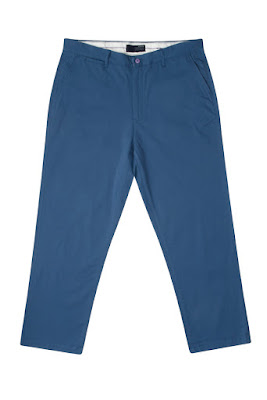 Cotton Chino Trousers for Tall Men