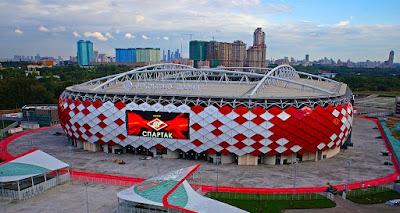 Stadion Spartak Rusia