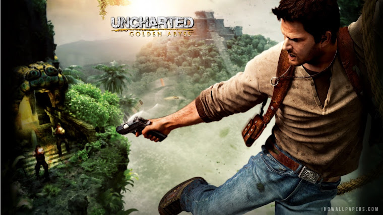 Uncharted Golden Abyss Nathan Drake HD Wallpaper - iHD Wallpapers