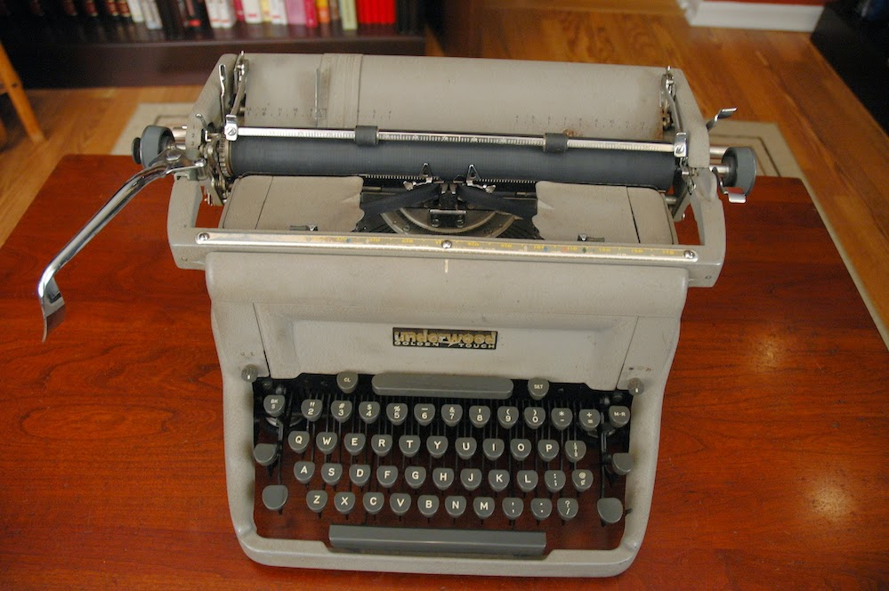 1958 Underwood Golden-Touch Typewriter