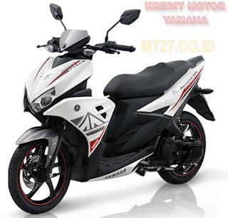 Yamaha Aerox-motor-putih