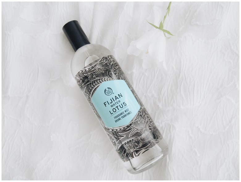 the body shop fijian water lotus fragrance mist