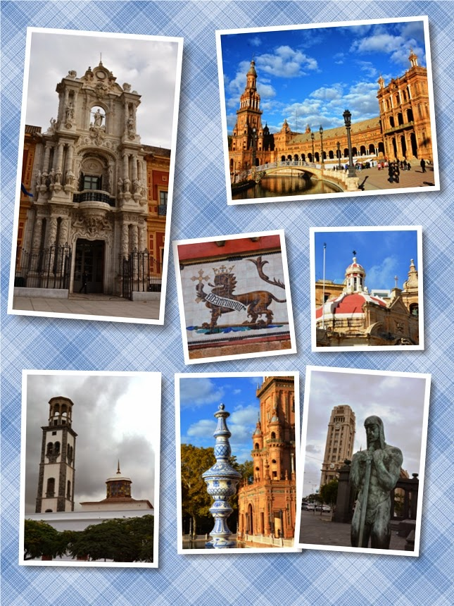 Collage Spain March 2014