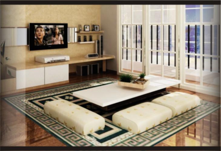 Hias Ruang Tamu Tanpa Sofa Desainrumahid Com