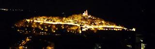 Veliko Tarnovo. Espectáculo de Luz y Sonido. Fortaleza de Tsarevets.